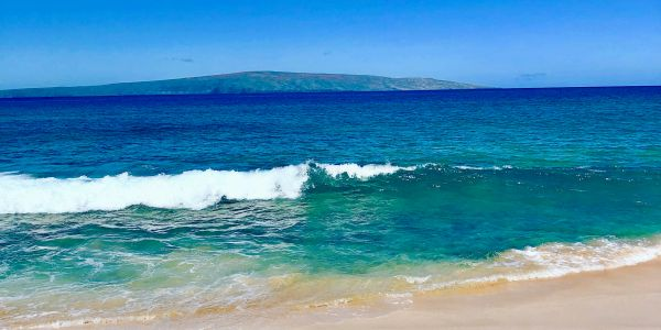 Makena Big Beach, Maui, Hawaii