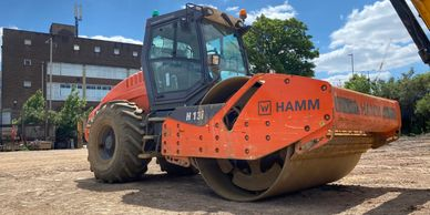 Hamm roller hire  joinpoint  plant hire  midlands