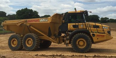 30 ton dump truck hire  joinpoint  plant hire  midlands