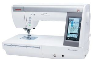 Janome Horizon Memory Craft 9450 QCP quilter.  Robinson Sew & Vac, Robinson IL