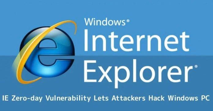 Resultado de imagem para vulnerabilidades zero day internet explorer