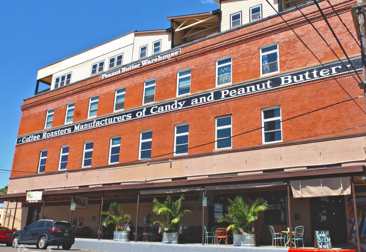 Peanut Butter Warehouse at 20th & Harborside in Downtown Galveston, Tx.