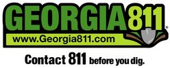 Georgia law mandates that, before beginning  you must contact Georgia 811