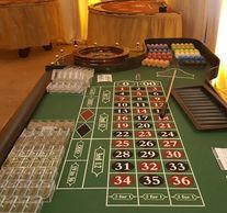 Roulette Table and Dealer available. Call For pricing