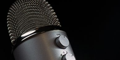 Microphone - the power of speaking engagements and tradeshows.