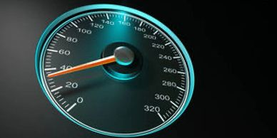 A speedometer - the public relations roadmaps and strategic planning move the needle for Hathaway PT clients.