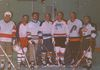 Bill Parker, Roger L'Hereux, Orville Burchby, Bill Dick, Gordie Rouse, Arnie Enger, George Pilbeam