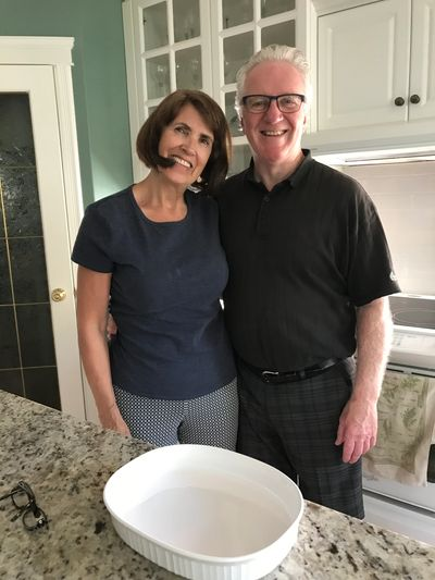 Arlene and Bob Tessier hosted the 2018 Edmonton Vintage Executive BBQ.