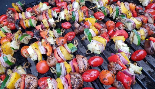 Georgia Grown local grilled Vegetables