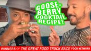 GOOSEBERRY COCKTAIL RECIPE, MYSTIKKA MASALA FOOD TRUCK, ANDREW PETTKE, FREE COCKTAIL CLASS