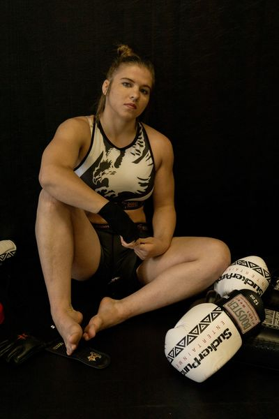 Images of Miranda Maverick MMA fighter