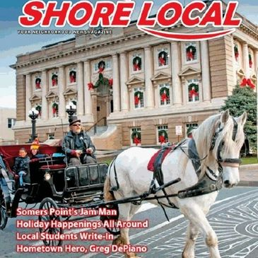 Christmas carriage rides at ocean city
