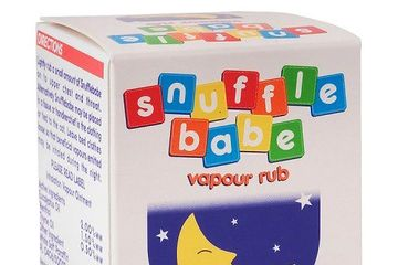 Snuffle baby vapour rub