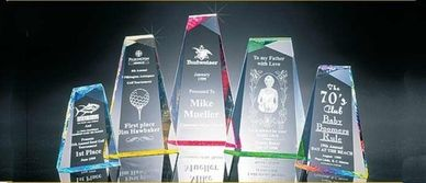 Acrylic Awards, Glass Awards