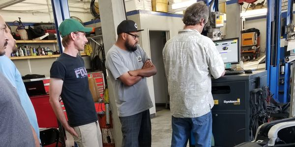 Teaching at Furgersons Automotive and Smog Repair