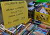Hundreds of books for children; for as low as 25 cents; some priced fifty-cents to $1.