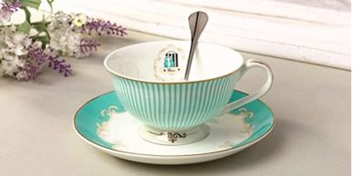 European style delicate design, Luxurious gold banding. Made of fine, high-end bone china, royal spe