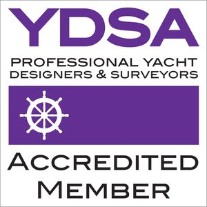 Accredited Member of the Yacht Designers and Surveyors Association