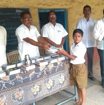 Youth for Jath's notebook distribution drive