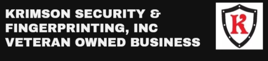 Krimson Security & Fingerprinting, Inc Veteran Owned Business