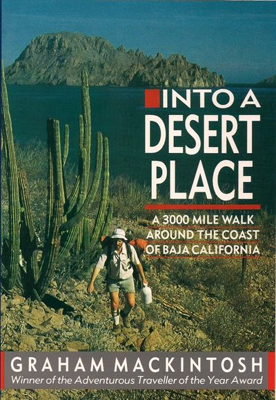 Into a Desert Place, 1988. My first book.