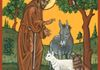 St. Francis Blessing the Animals
