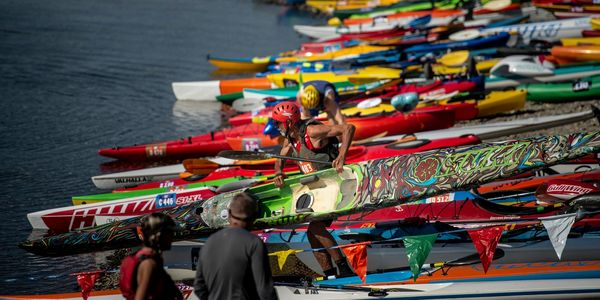Eppies Great Race, Great American Triathlon, kayak racing, paddle board racing