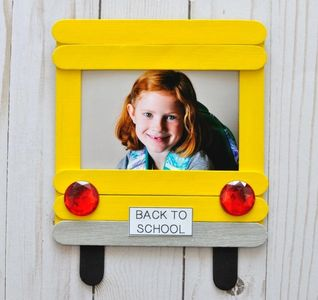 Handmade Holidays Back To School Craft Stick  Photo Frame Art On Creative Huntington Beach, CA