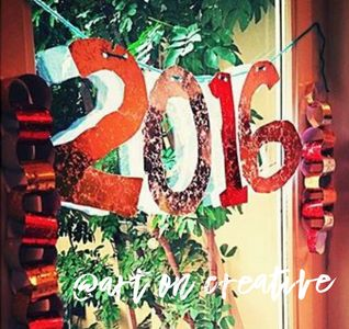 Handmade Holidays New Year Paper Chain Craft Art On Creative Huntington Beach, CA