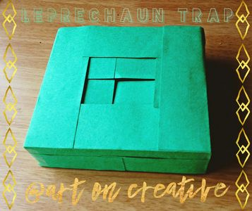 Leprechaun Trap Tutorial Handmade Holidays St. Patrick's Day Art On Creative Huntington Beach, CA
