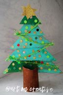Size Concept Christmas Tree Craft for Children Handmade Holidays Art On Creative Huntington Beach CA