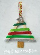 Length Concept Christmas Tree Craft for Children Handmade Holidays Art On Creative Huntington Beach