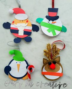 Handmade Holidays Christmas Santa Rudolph Snowman Penguin Art On Creative Huntington Beach, CA
