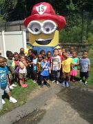 The Minion loves all the children and the children love the Minion!!