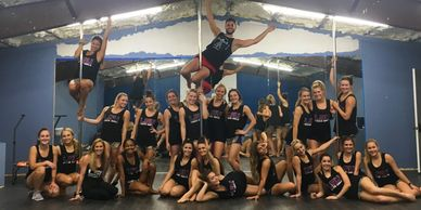 Pole Fitness with the Tiger Girls