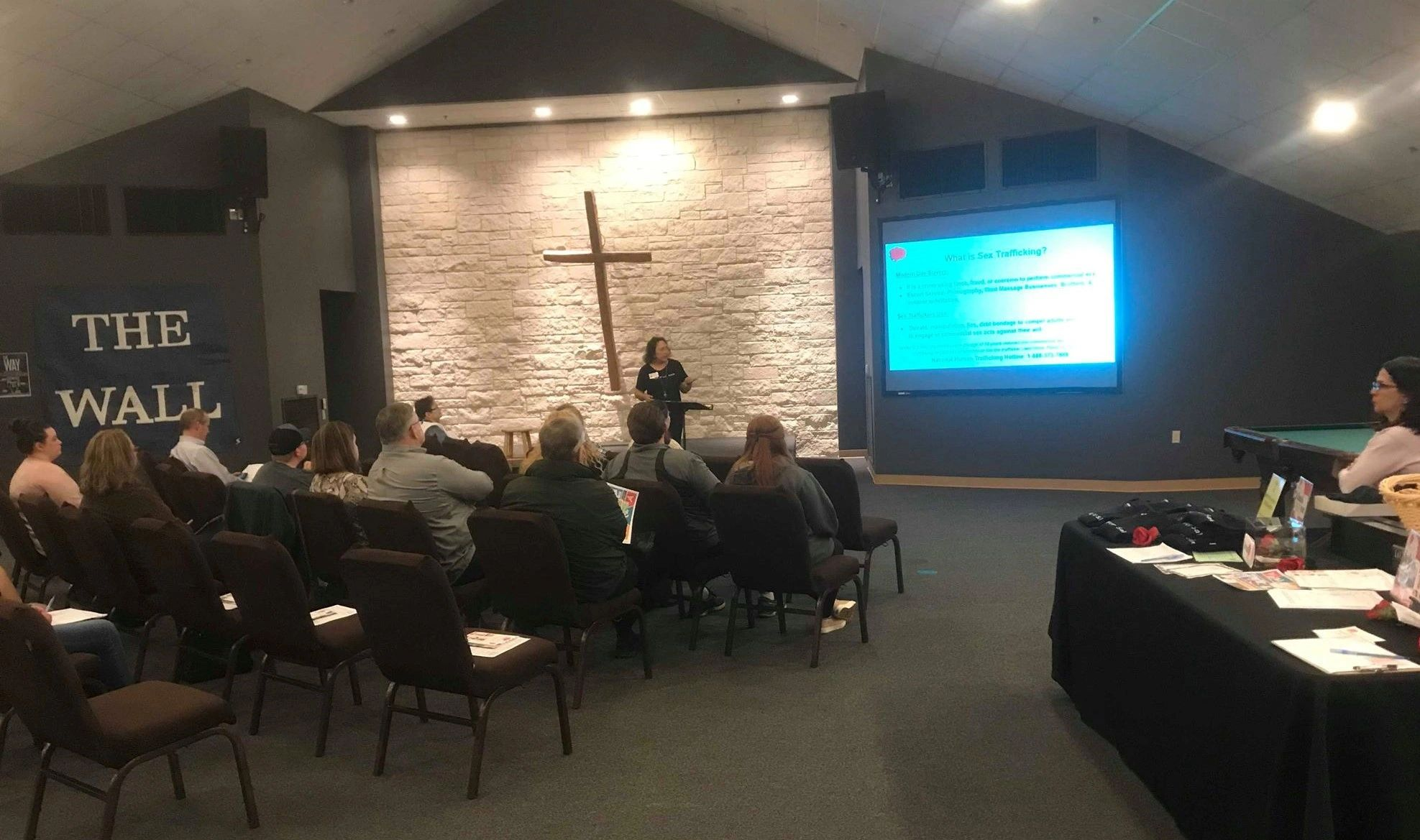 Human Trafficking 101 at Foundation United Methodist Church during January Awareness Month