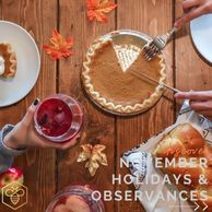 November Holidays and Observances