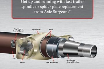 axle spindle, trailer spindle, axle doctor, spindle doctor