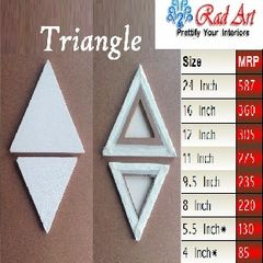 Radart Triangle Canvas