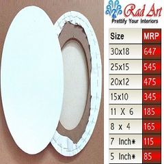 Radart Oval Canvas