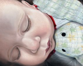 Infant Asleep, Portrait,