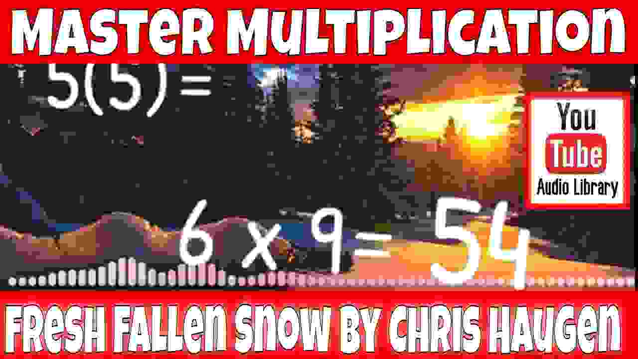 Fresh Fallen Snow mixed math title screen