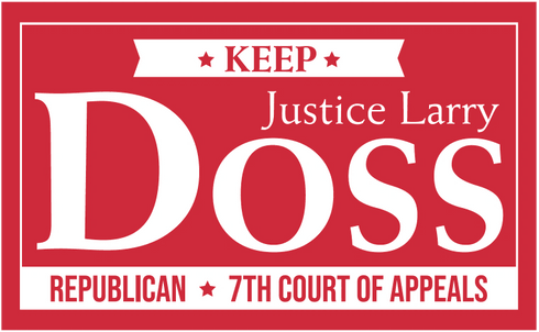 Justice Larry Doss.  Seventh Court of Appeals