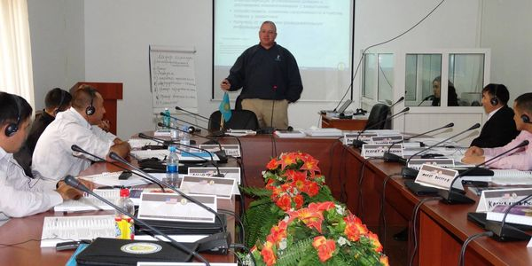 Teaching a Crisis Negotiations course in a foreign country.