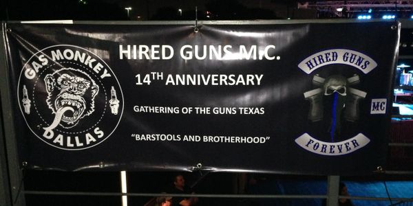 Hired guns party