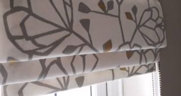 Roman blinds de mystified.