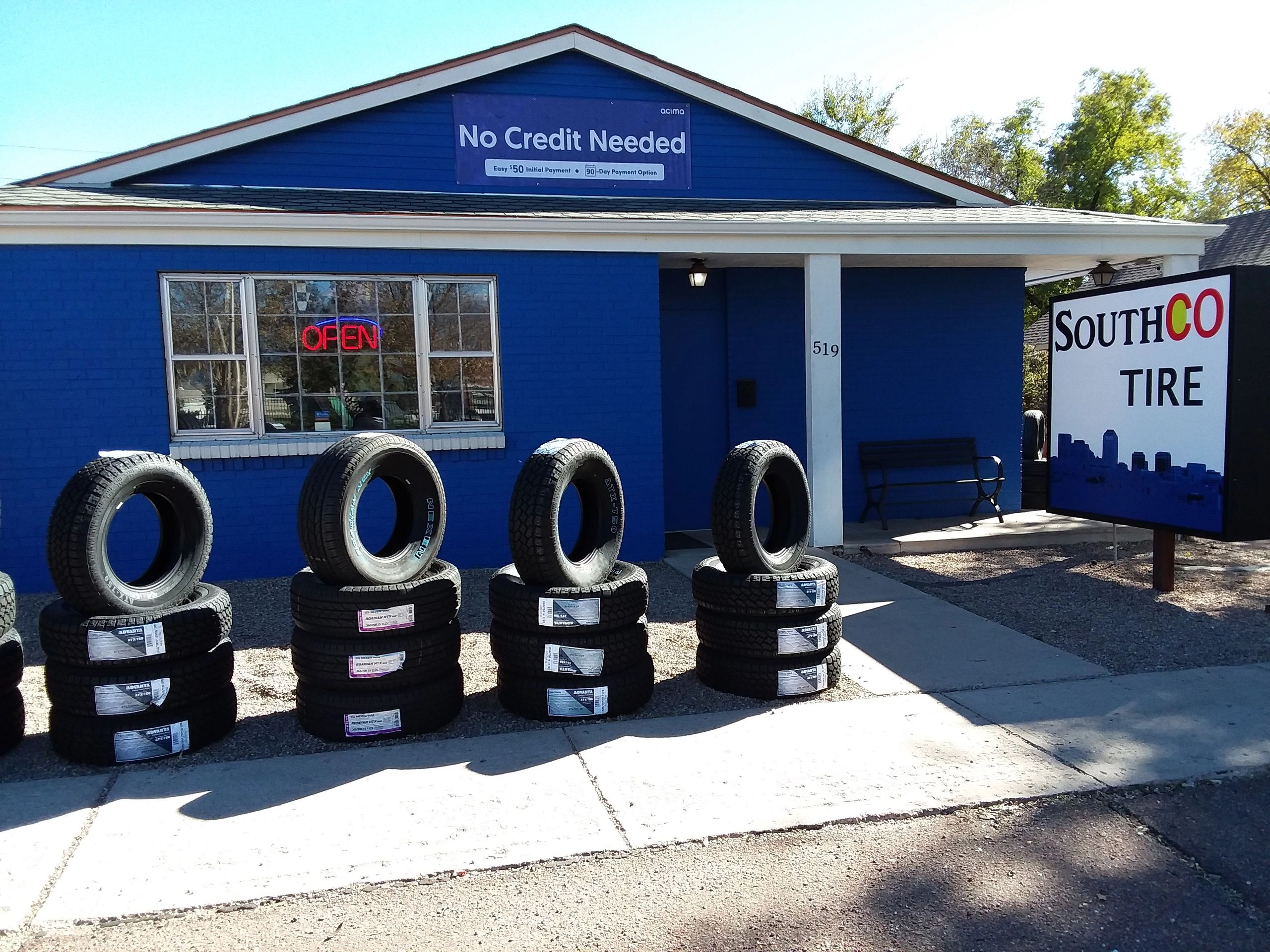 South CO Tire Colorado Springs, CO New and Used Tire Shop