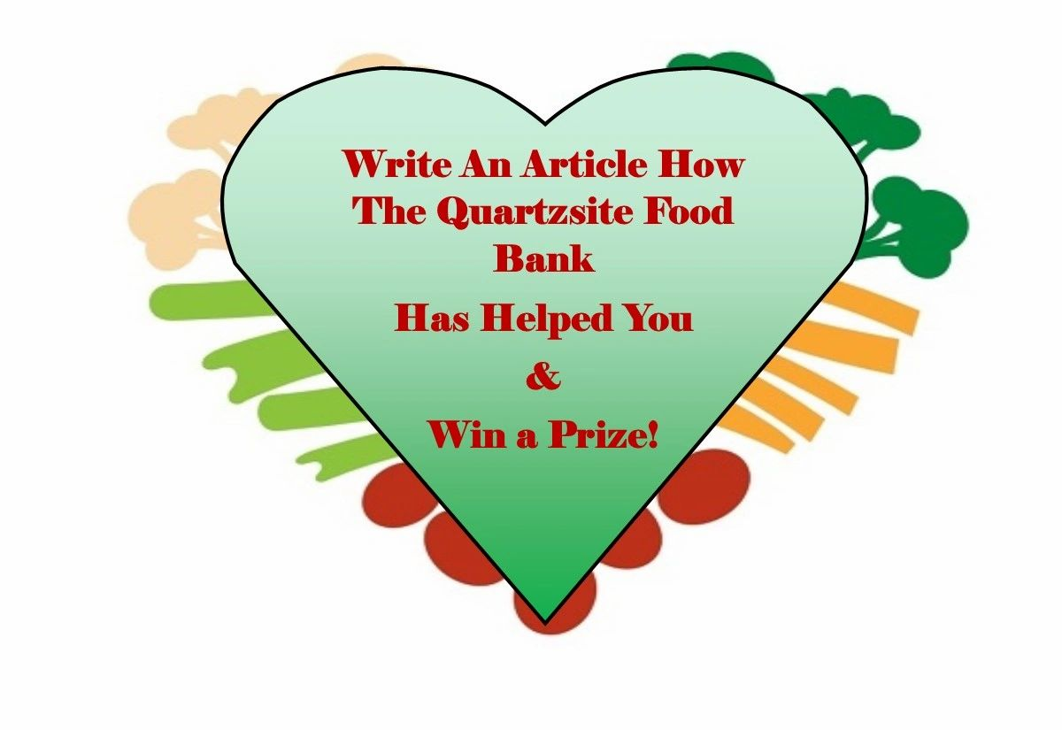 July's Food Bank Writing Contest Winner