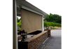 Patio Cover with Retractable Shade Awning