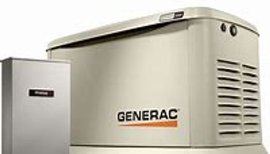 22kw Generac Generator Air Cooled Gas Engine, Installation by a Certified Electrical Contractor